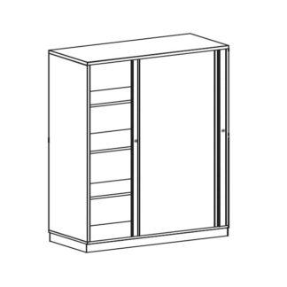 BAG Buerosysteme Produktwelten Shop Schwebetuerenschrank 4OH