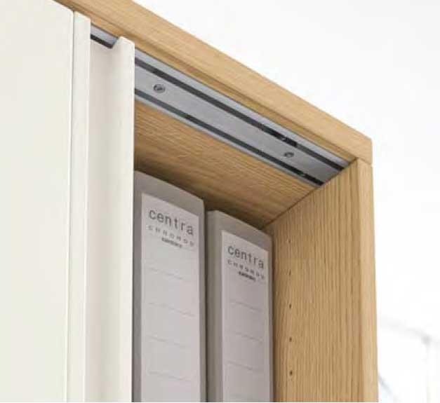 PRISMA 2 Schwebetürenschrank 2   BAG Büro & Objekteinrichtungen