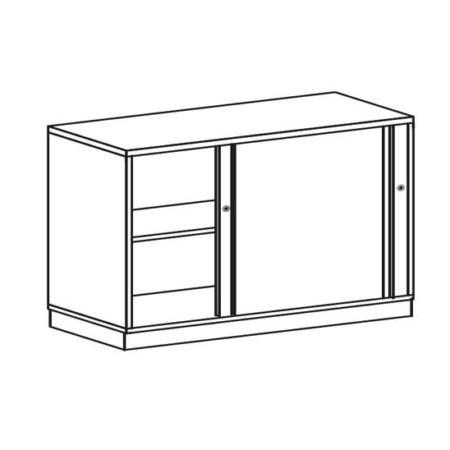 BAG Buerosysteme Produktwelten Shop Schwebetuerenschrank 2OH
