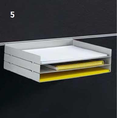 BAG Bürosysteme Shop Terio Plus Tischaufsatz