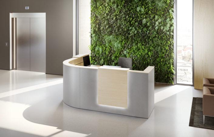 BAG Bürosysteme Produktwelten Empfang Entree
