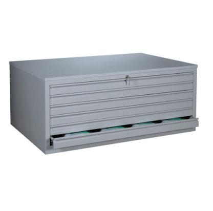 BAG Buerosysteme BAG Buerosysteme Produktwelten Shop Stahlmoebel Stahl-Zeichnungsschrank A1 Shop Stahlmoebel Stahl-Zeichnungsschrank