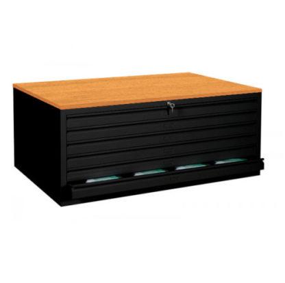 BAG Buerosysteme Produktwelten Shop Stahlmoebel Stahl-Zeichnungsschrank A1