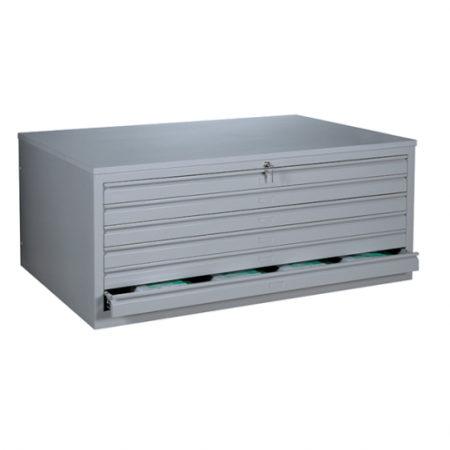 BAG Buerosysteme Produktwelten Shop Stahlmoebel Stahl-Zeichnungsschrank A0
