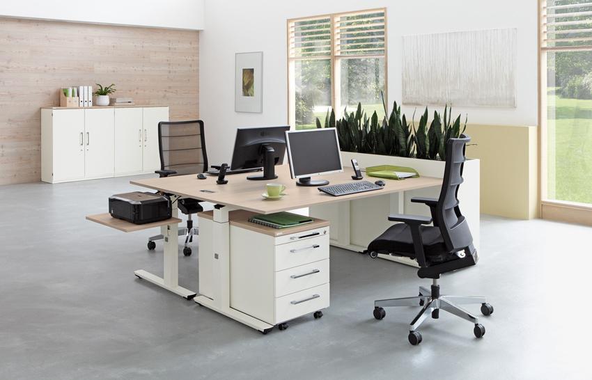 palmberg crew schreibtisch 140 x 80 cm feste h he bag b ro objekteinrichtungen. Black Bedroom Furniture Sets. Home Design Ideas
