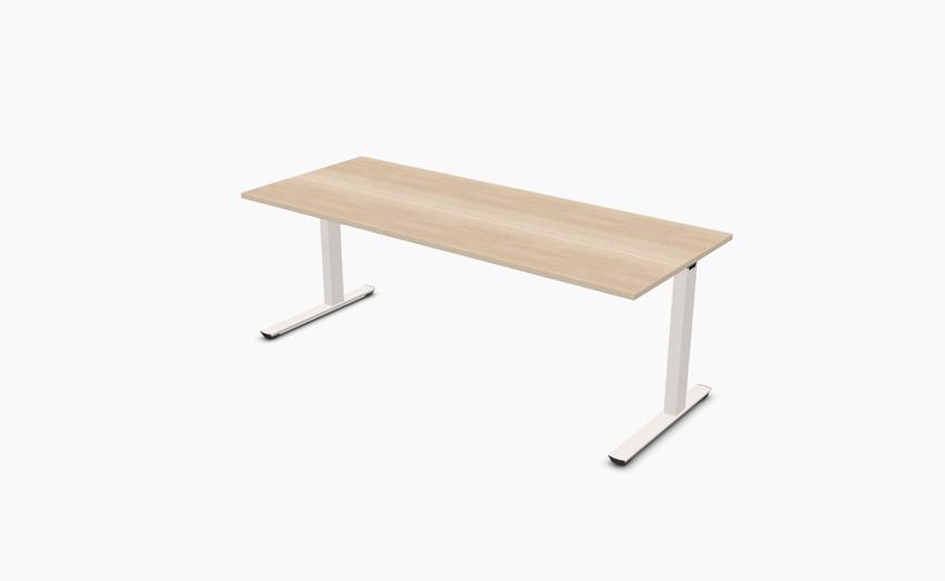 palmberg crew schreibtisch 200 x 80 cm feste h he bag b ro objekteinrichtungen. Black Bedroom Furniture Sets. Home Design Ideas