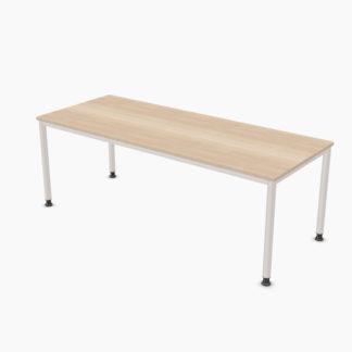 Palmberg SINAC Schreibtisch E Rundrohr 200 x 80 cm