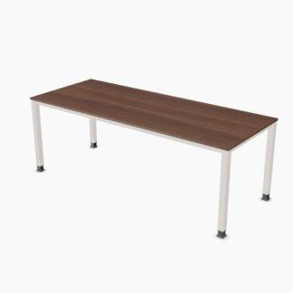 Palmberg SINAC Schreibtisch Q Quadratrohr 200 x 80 cm