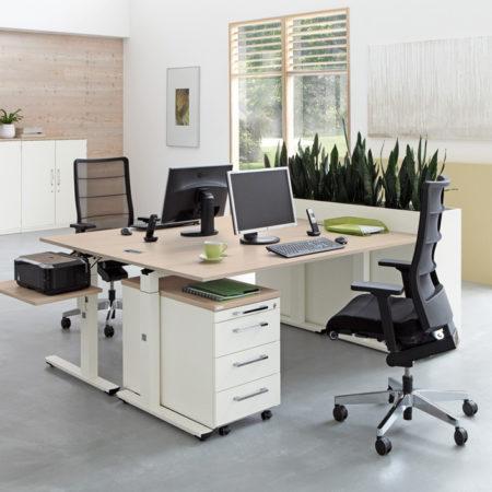 Schreibtische höhenverstellbar