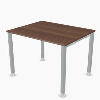 Palmberg Systo-Tec-Schreibtisch-Rundrohr-1000-x-800-mm